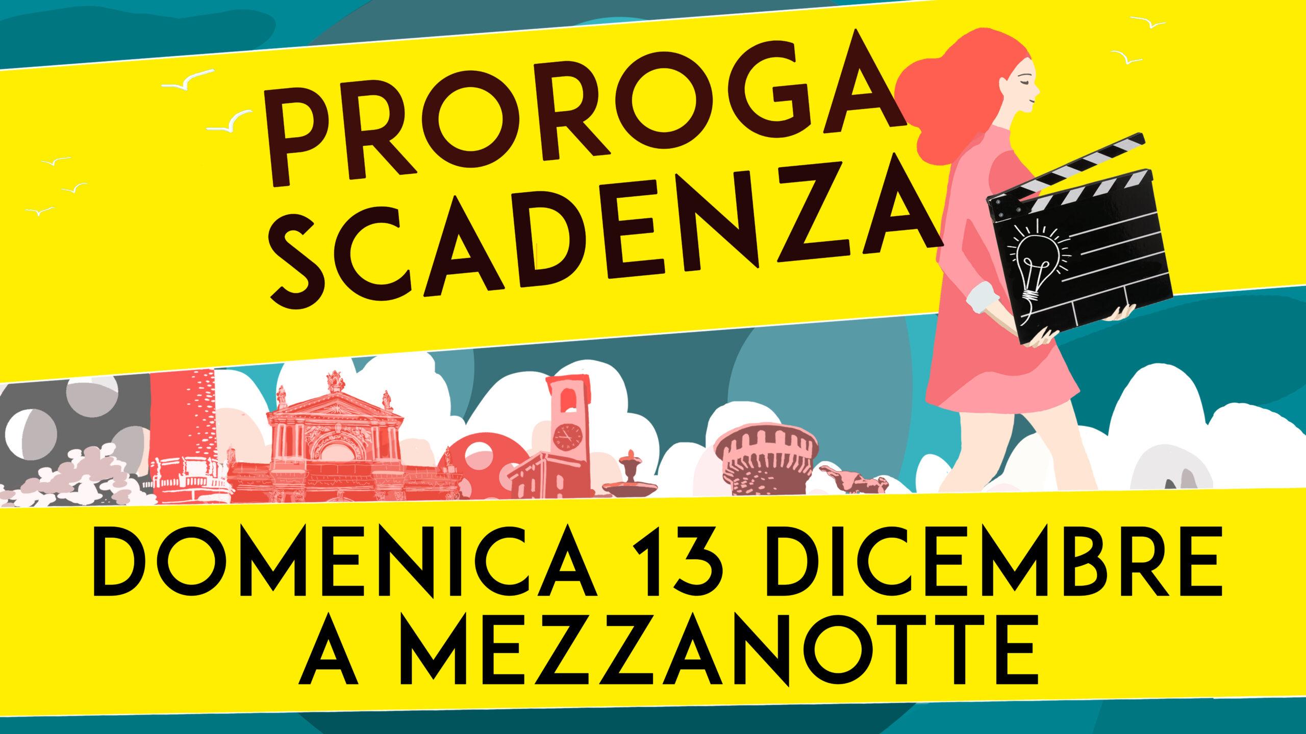 PALASHORT 2020: IL BANDO È PROROGATO AL 13 DICEMBRE!